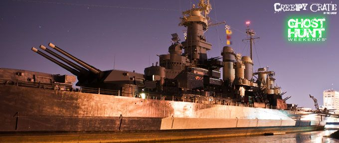 ghost hunt weekends uss north carolina