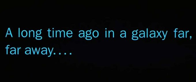 what year does Star Wars take place