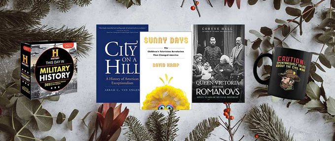 holiday gifts for history buffs 2020