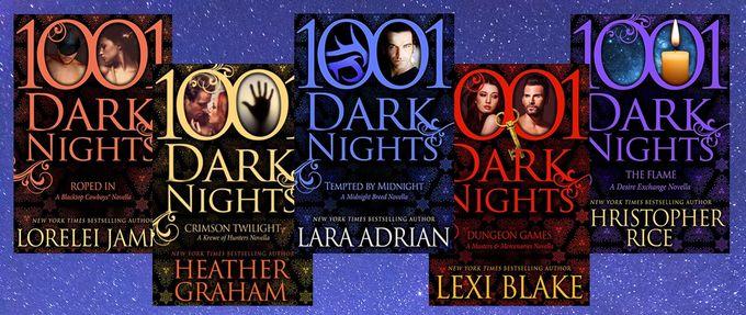 1001 dark nights, a romantic novella series