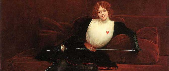 Julie d'Aubigny feature