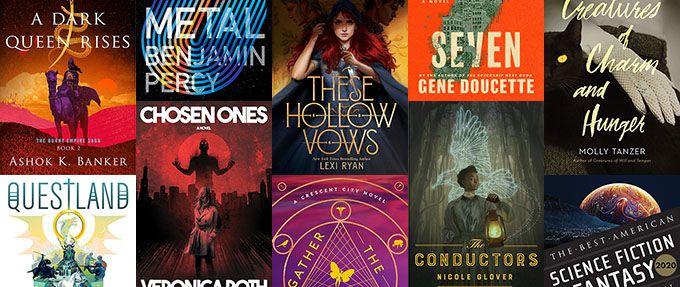 new science fiction fantasy books summer 2021