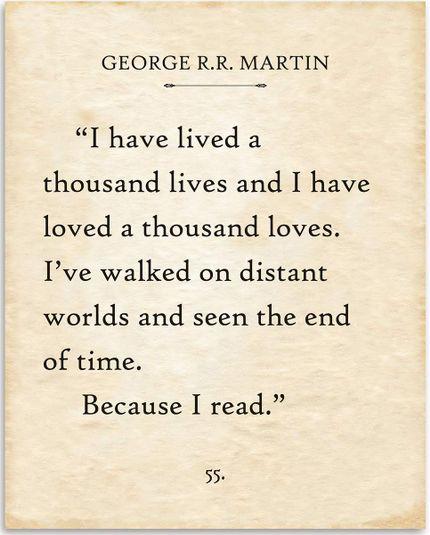 George R.R. Martin Print