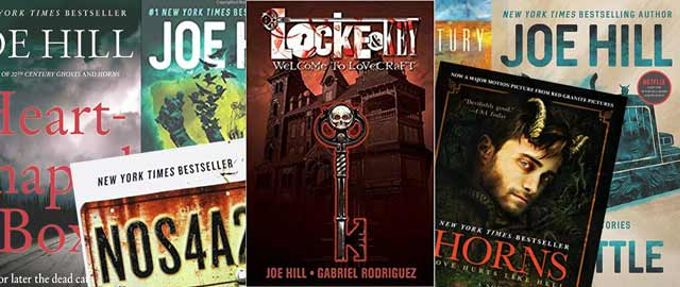 Joe Hill books