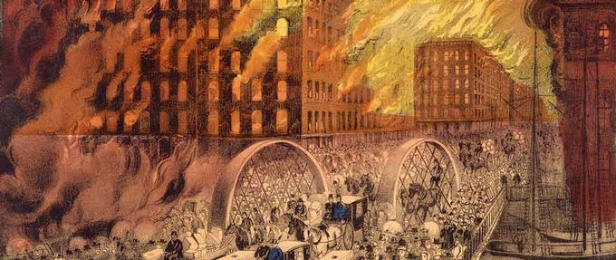 Chicago's Great Fire giveaway