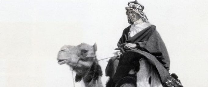 Feature Image T.E. Lawrence Riding Camel Lawrence of Arabia's War Neil Faulkner