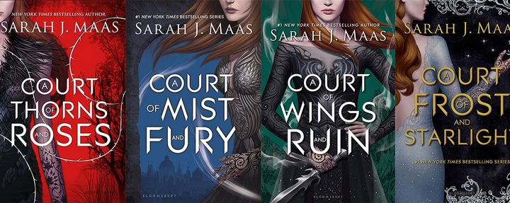 Image result for a court of thorns and roses books