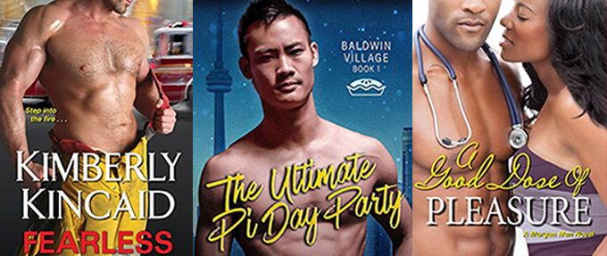 three of the hottest contemporary romance novels