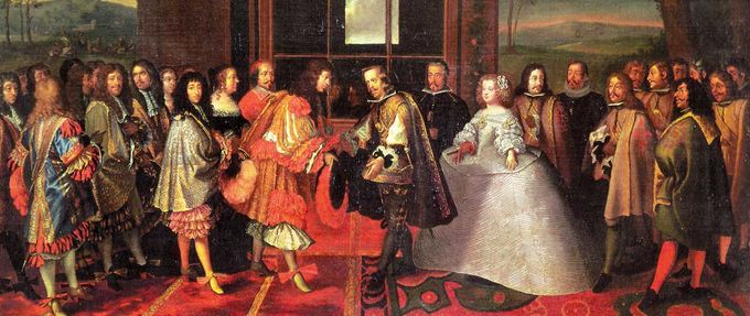 war of spanish succession; marriage of maria teresa to louis xiv