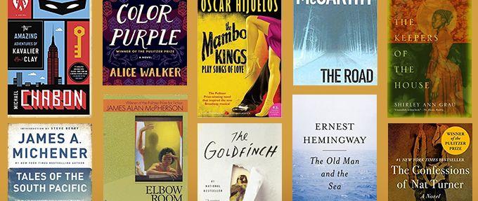 pulitzer prize winning fiction books