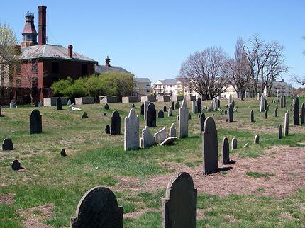 haunted cemeteries howard street