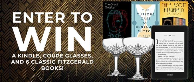 fitzgerald ebook kindle coupe glasses giveaway