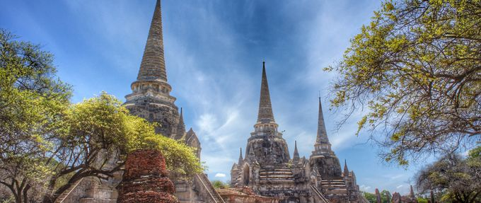 historical places to visit Wat Phra Si Sanphet
