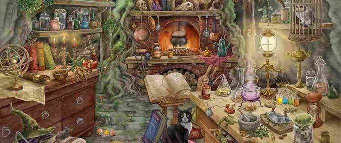 Featured Image Witch's Kitchen Mystery Puzzles