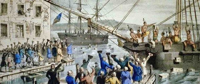 facts about the boston tea party feature