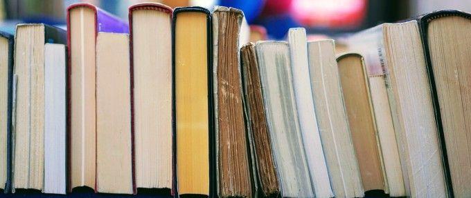 a pile of books