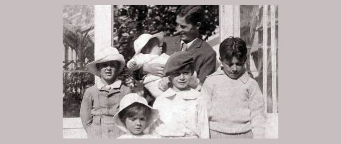 the davie family, who inspired j.m. barrie's peter pan