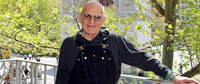 larry kramer, author of Faggots and The Normal Heart