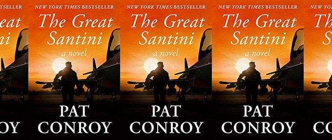 the great santini by pat conroy book cover