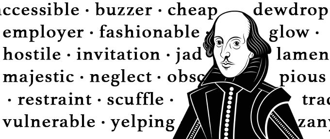 words shakespeare invented