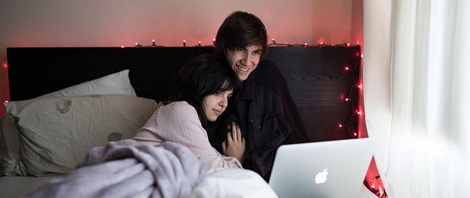 couple watching new romance movies on netflix