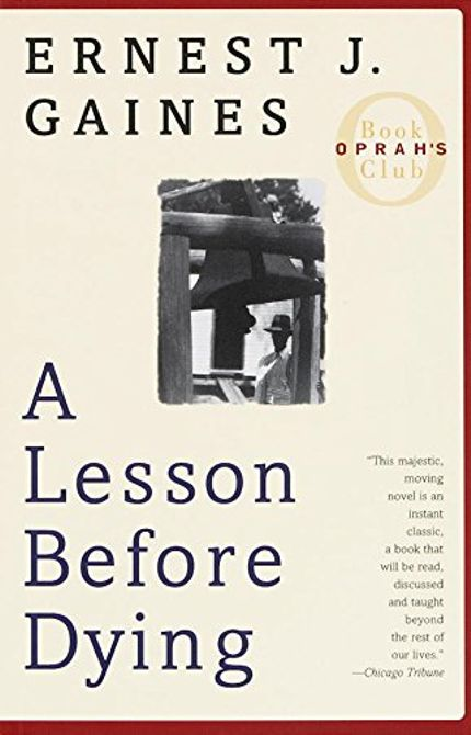comparing dignity in a lesson before dying From his first internationally published short story, the sky is gray (1963), to his critically acclaimed novel, a lesson before dying (1993), gaines' fiction does not stray far from his emotional roots of the plantation.