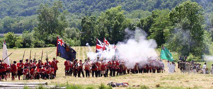 fort ticonderoga battle reenactment