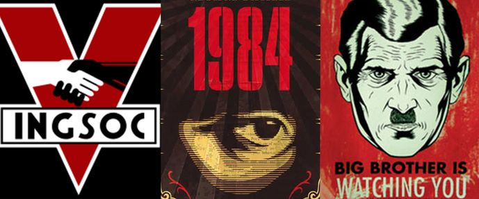 Its No Secret That The Terms Orwellian And Alternative Facts Have Come Up A Lot Lately Or George Orwells Classic Book 1984 Which Depicts