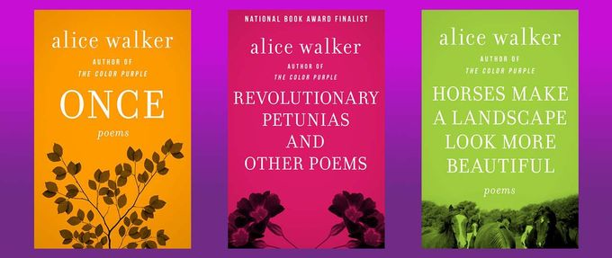 three books of alice walker poems