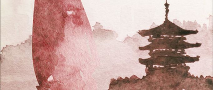 cropped cover of the painted veil, a book about colonial asia