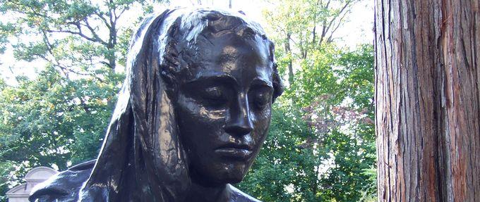 bronze lady sleepy hollow