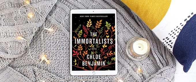 the immortalists, a discounted ibook, on an ipad