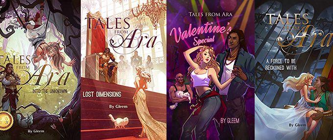 tales from ara romance books