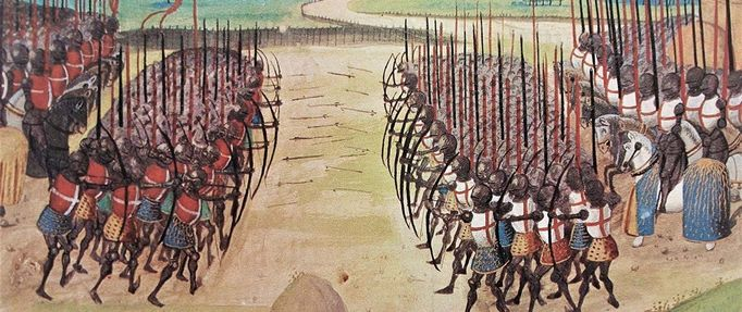 medieval weapons battle of agincourt