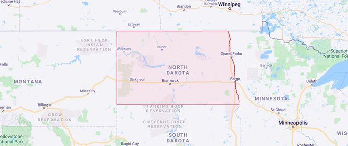 north dakota secede