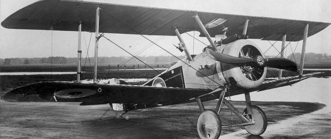 machine guns wwi biplane