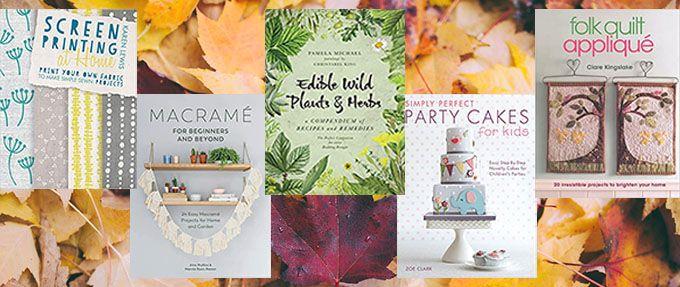bundle of crafting books