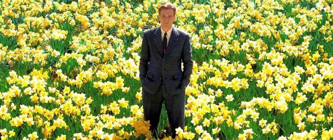 the daffodil scene in Big Fish, a grand romantic gesture