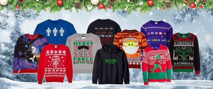 geek Christmas sweaters