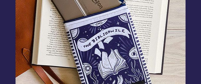 cute bibliophile book sleeve