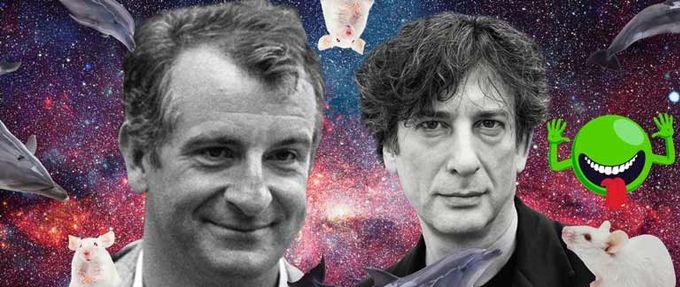 Neil Gaiman Douglas Adams