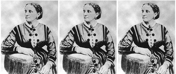 elizabeth keckley, former slave and dressmaker for Mary Todd Lincoln