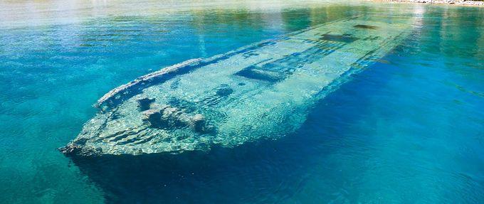 underwater shipwrecks