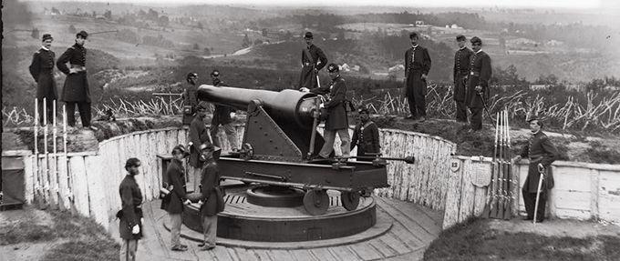 civil war defense washington