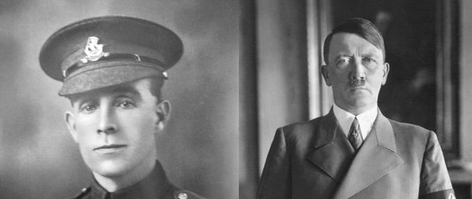 soldier who saved hitler
