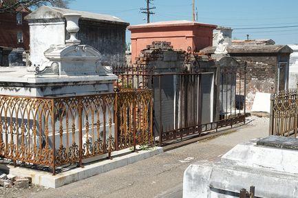 haunted graveyards Saint Louis Cemetery