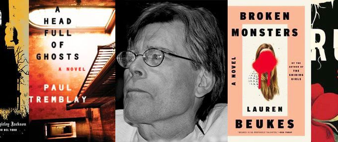 stephen king recommended horror books