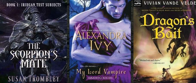 monster romance covers