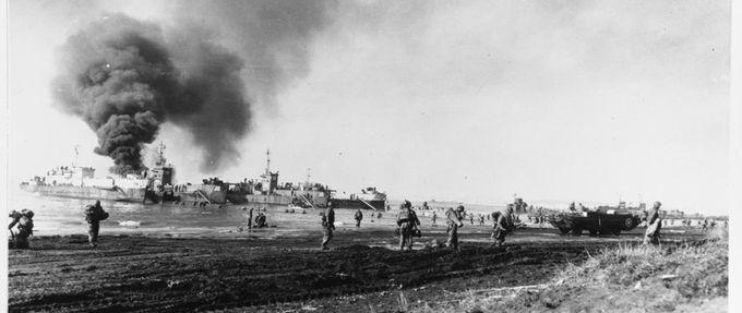 battle of anzio beach