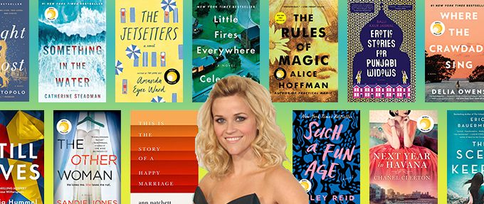 reese witherspoon and her book club picks